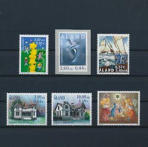 LN22448 Aland mixed thematics nice lot of good stamps MNH