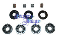 SUZUKI GT185 CRANKSHAFT REBUILD KITS OIL SEALS BEARINGS CI-GT185CSRKT