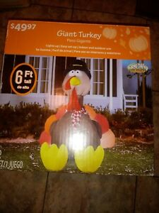 6th Inflatable Faint Turkey