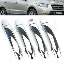 FOR 2007~2012 HYUNDAI SANTA FE (CM) CHROME DOOR HANDLE COVER TRIM MOLDING 2011