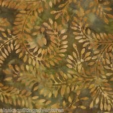 Fabric Moda ~ Tropicana Batiks ~ Swirling Vines/Earth ( 4142 16) by 1/2 yard