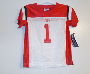 ProEdge UNLV Rebels Toddler Boys Jersey Sizes 2T, 3T and 4T NWT