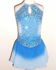 CUSTOM MADE TO FIT FIGURE ICE SKATING/BATON TWIRLING COSTUME