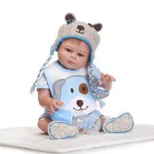 "Anatomically Correct Boy 20"" Full Silicone Vinyl Body Reborn Baby Dolls"