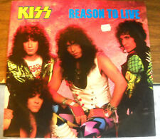 REASON TO LIVE NEW 12 INCH RECORD W PICTURE SLEEVE KISS