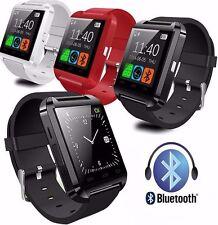Reloj Inteligente SmartWatch U 8 Bluetooth Pulsera para huawei ios Android Negro