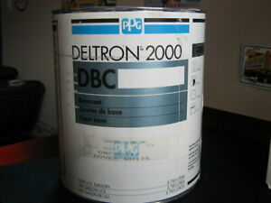 Automotive paint - PPG Deltron 2000 Basecoat white