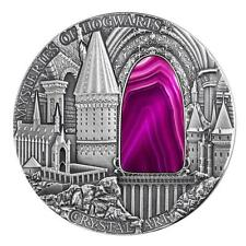 Niue 2015, Crystal Art, Mysteries of Hogwarts, Harry Potter Coin, 2oz Silver