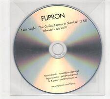 (GP638) Flipron, The Coolest Names In Showbiz - 2010 DJ CD