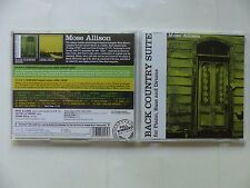 CD ALBUM MOSE ALLISON Back country suite + Local color PWR 27244