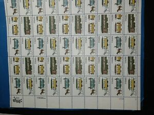 $0.20 Us Streetcar Stamp Sheet