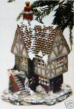 Ceramic Bisque House Village Toy Store Duncan Mold 1120 U-Paint Ready To Paint