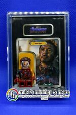 Marvel's IRON MAN Custom Carded Minifigure Display Mini-Figure Endgame Damage