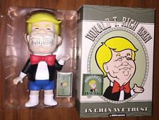 RON ENGLISH X MINDstyle Donald T. Rich GRIN Original SIGNED SDCC 2017 TRUMP RARE