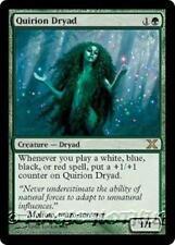 QUIRION DRYAD Tenth Edition MTG Green Creature — Dryad RARE