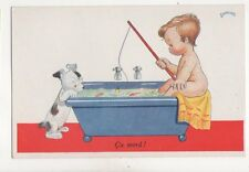 Janser Ca Mord 1943 Children Art Postcard 235b