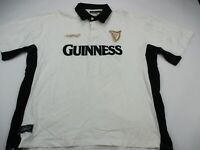Guinness Mens Graphic Polo Shirt Short Sleeve Adult 2XL Harp Beer Shirt
