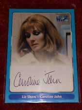DR DOCTOR WHO CAROLINE JOHN SIGNED DEFINITIVE COLLECTION TRADING CARD A10 LIZ