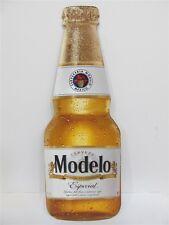 "Crown Imports Cerveza Modelo Especial, 22"" x 8-3/8"", Metal Bottle Tacker / Sign"