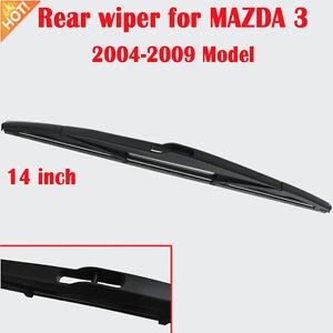 Rear wiper blade 14 inch For MAZDA 3 BK 2004-2009