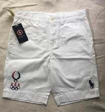 Official Polo Ralph Lauren Beijing Olympics Big Pony Shorts  Sz 4P NWT
