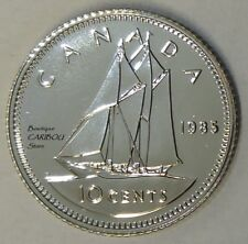 1985 Canada Proof-Like 10 Cents