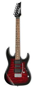 Ibanez GRX70QA GIO Electric Guitar Transparent Red Burst