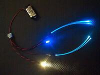 Star Wars Model Led Light Kit For Cockpit Areas Fibre Optic WHITE & BLUE STATIC