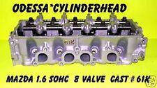 MAZDA 323 MX3 1.6 SOHC 8V #61K CYLINDER HEAD 87-94