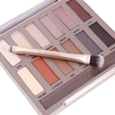 12 Farben Natural Matte Lidschatten Palette Palette Make-Up Kit Set Eye Shadow
