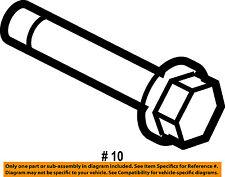 CHRYSLER OEM Rear Suspension-Link Rod Front Bolt 6104242AA
