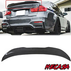 For 13-18 BMW F30 330i 335i F80 M3 Carbon Style HighKick PSM Style Trunk Spoiler