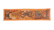 Handmade Indian Wall Hanging Runner Throw Beaded Decor Art