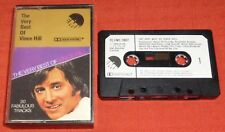 VINCE HILL - UK CASSETTE TAPE - VERY BEST OF (HITS) - EMI - PAPER LABELS