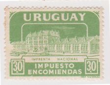 (UGA-182) 1960 Uruguay 30c green Parcel post (G)