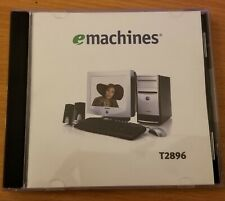 New emachines Microsoft Works 7.0 , Money 2004, Encarta Standard CD-ROM Software