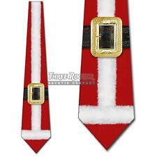 Santa Claus Suit Christmas Tie Men's Holiday Neck Ties