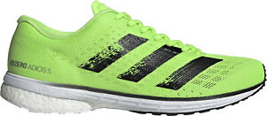 adidas Adizero Adios 5 Boost Mens Running Shoes - Green