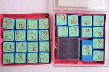 Dino Bet Rubber Stamps Dinosaur Alphabet Vintage 1987 Rubber Stampede
