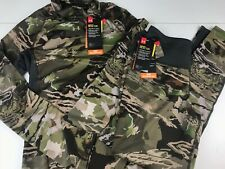 NWT UNDER ARMOUR OUTFIT Women Small Hunt ColdGear Forest Camo Mid Season Kit