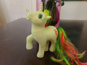 My Little Pony Vintage G1 Mimic Twinkle Eye Unicorn Parrot 1987 Rare