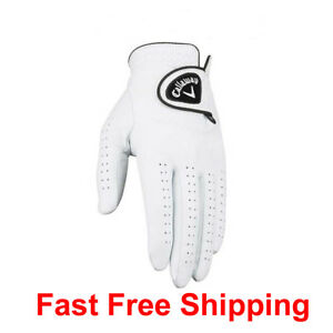 GOLF Callaway Glove Dawn Patrol Premium 100% Leather Left GLOVES for Right Hand