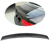 Racing Rear Trunk Spoiler Wing Carbon Fiber Fit for AUDI A5 S5 10-13 Convertible