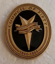 THE COUNCIL OF FIFTY Lapel Pin