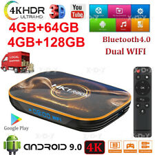 HK1 R1 Android 10.0 4+128G 4K TV BOX Dual WIFI BT Media Player MINI PC RK3318 US