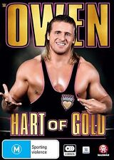WWE - Owen - Hart Of Gold (DVD, 2016, 3-Disc Set) BRAND NEW SEALED