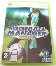 FOOTBALL MANAGER 2007 XBOX 360 GIOCO NUOVO ITALIANO SPED GRATIS SU + ACQUISTI!