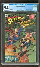 CGC 9.8 THE HIDDEN KILLER #NN D.C. COMICS 1998 SUPERMAN WONDER WOMAN APPEARANCE