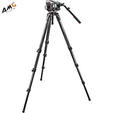 Manfrotto 536 Carbon Fiber Tripod Kit with 509HD Video Head and Padded Carry Bag
