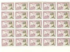 YVERT N° 1270 GENERAL ESTIENNE x 25 TIMBRES DE FRANCE Neufs **